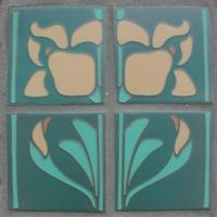 Iris and Iris Buds Tiles