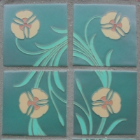 Lady Ann Flower Tiles