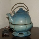 "VB Tea Pot ""Electric Stove"" with Patented Heating Coil"